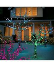 Pre Lit LED Light Show Color Changing Tree Outdoor Christmas Yard Decor 2 Sizes