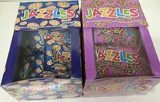 Box x24 Pkts Jazzles Milk or White Flavoured Chocolate Candy Christmas Sweets