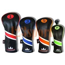 Colorful # Golf Headcover Cover For Titleist 917 915 Driver/Fairway Woods/Hybrid
