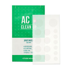 Etude House AC Clean Up Spot Patch 4x16 or 15x16 Acne Blemish Patches