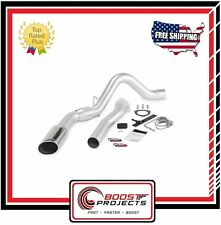 Banks Power Monster Exhaust System Chevy 6.6L Single Chrome Tip 2007-10 # 47784