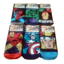 Mens Comic Book Socks Avengers Batman Superman Marvel DC Hulk Spiderman