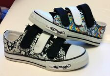 Ed Hardy boys Kids shoes Frankfurt Tiger Black White