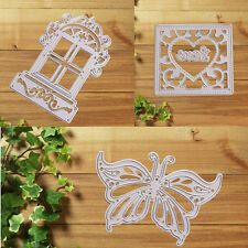 1PC Metal DIY Diary Stencil Craft Decor Cutting Dies Paper Card Scrapbooking Hot