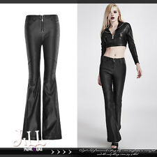 Punk visual rock sexy Agogo rockabilly clearstarched flare pants K260