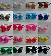 Child Kid Bow Alice Band aliceband Hair Headband Girls Ladies hairband head Gift