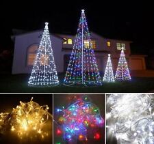 10M 100 LED Outdoor Party Garden Christmas Decor String Fairy Wedding Light Lamp