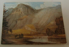Francis Towne POSTCARD Fitzwilliam Museum Cambridge Raven Cragg With Thirlmere