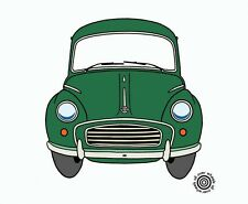 MORRIS MINOR T-SHIRT classic Morris Minor tee DTG printed on 100% cotton tees