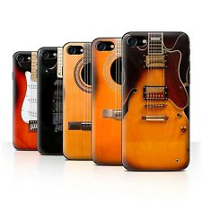 STUFF4 Back Case/Cover/Skin for Apple iPhone 7/Guitar