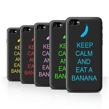 STUFF4 Back Case/Cover/Skin for Apple iPhone 7/Keep Calm