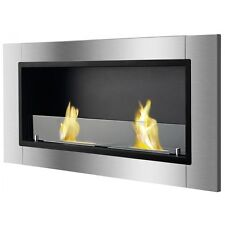 Ignis Bio Ethanol Fireplace, Ventless Recessed Fireplace - Lata
