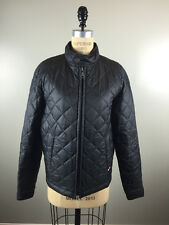 Burberry Size S Black Nylon Quilted Jacket