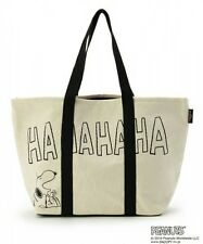 PEANUTS Snoopy Tote Bag Shoulder Purse Shopping Mother Handbag from Japan K2114