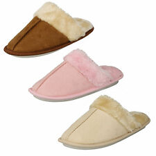LADIES SLIPPERS WITH MEMORY FOAM AVALIABLE IN CREAM,TAN AND PINK