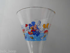 COLLECTABLE DISNEY MARTINI GLASS MICKEY, MINNIE PLUTO, GOOFY, DONALD AND DAISY