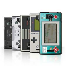 STUFF4 Back Case/Cover/Skin for Sharp Aquos Xx 304SH/Games Console