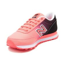NEW Womens New Balance 501 Gradient Athletic Shoe Coral Black Fade Ombre Peach