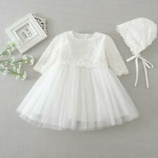 Elegant Long Sleeve Christening Dress Rose Christening Gown Baby  Baptism Dress