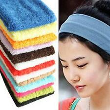 Unisex Stretchy Sports Headband Sweat Sweatband Head Band Tennis Badminton Yoga