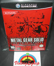 METAL GEAR SOLID THE TWIN SNAKES NINTENDO GAMECUBE & WII PAL GAME COMPLETE RARE