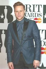 Olly Murs Genuine Hand Signed 12x8 Photograph + COA