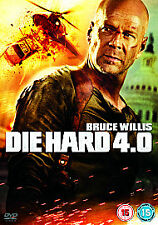 Die Hard 4.0 (DVD, 2007 - BRUCE WILLIS - JUSTIN LONG - FAST & FREE UK DELIVERY