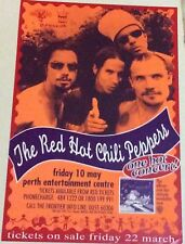 Red Hot Chili Peppers Vintage Tour Poster Australia 1996