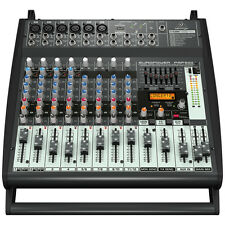 BEHRINGER EUROPOWER PMP500 500W 12-Channel Powered Mixer Multi-FX Live Sound