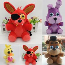 "FNAF Five Nights at Freddy's Plushie Toy 10"" Plush Bear/Foxy/Bonnie/chica"