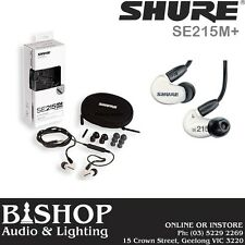 Shure SE215M+ Special Edition Sound Isolating Earphones - BRAND NEW - INSTOCK