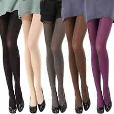 Women Autumn Winter Opaque Footed Velvet Pantyhose Stockings Tights 14 Colors