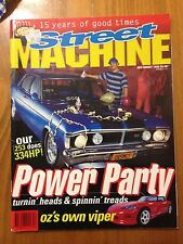 Street Machine Jul/Aug 1996  Fords, Holdens,Charger,Cortina, FC,Pontiac Firebird