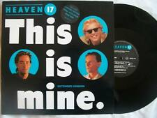 """HEAVEN 17 This is Mine 12"""" vinyl Sound Clip in Listing"""