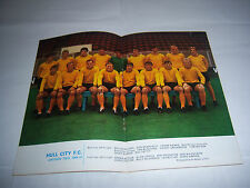 FOOTBALL LEAGUE REVIEW MAGAZINE 1969/70 - #418 - HULL CITY / DERBY COUNTY
