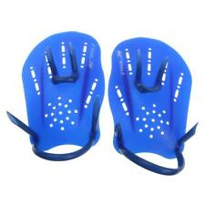 Swim Hand Training Paddles Webbed Swimming Gloves for Water Resistance Blue