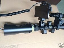 DIY Night Vision Scope Riflescope Add On Device w/ IR Torch f Android Cellphone