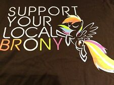 Support Your Local Brony Men's Tshirt