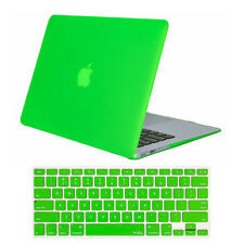 "Rubberized Matte Hard Shell Case Cover+Keyboard Skin For Macbook White 13"" A1342"