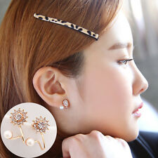 Women Fashion Jewelry Lady Elegant Crystal Rhinestone Ear Stud Earrings New