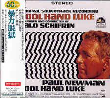 Lalo Schifrin COOL HAND LUKE score Japan CD Original Cover Art