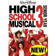 High School Musical 3: Senior Year (DVD, 2009) RARE ZAC EFRON BRAND NEW