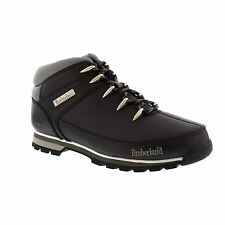 Timberland Euro Sprint Hiker 6200R - Black Smooth Mens Boots