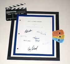 2001: A SPACE ODYSSEY MOVIE SCRIPT SIGNED KEIR DULLEA  GARY LOCKWOOD