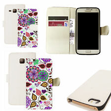 pu leather wallet case for majority Mobile phones - pink babydoll white