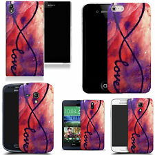 motif case cover for many Mobile phones - love swirl