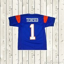 Harmon Tedesco Football Jersey #1 Blue Mountain State Goats Movie Stitched Blue