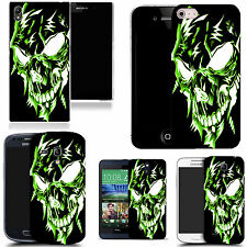 pictoral case cover for most Popular Mobile phones - green robotic