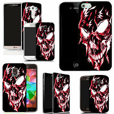 pictoral case cover for most Popular Mobile phones - red robotic