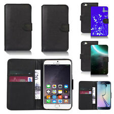 pu leather wallet case cover for apple iphone models design ref q40